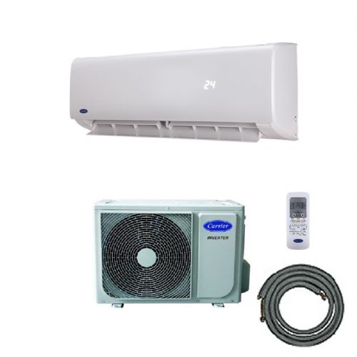 Carrier EasyFit Wall Mounted Air Conditioning Inverter Heat Pump Kit (3.5Kw / 12000btu) 240V~50Hz